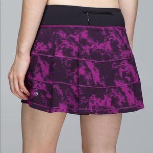 LULULEMON Pace Rival Skirt 4 Way Stretch